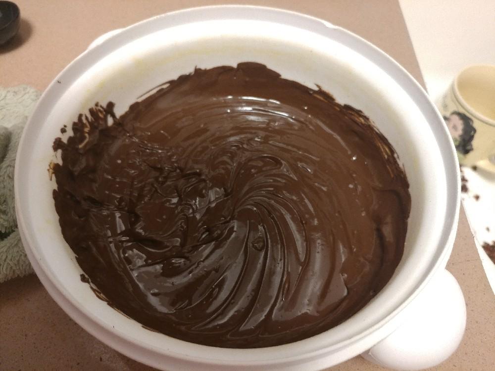 נוטלה טבעונית תוצרת בית, ממיסים שוקולד